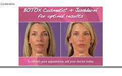 Botox - Juvederm Combo